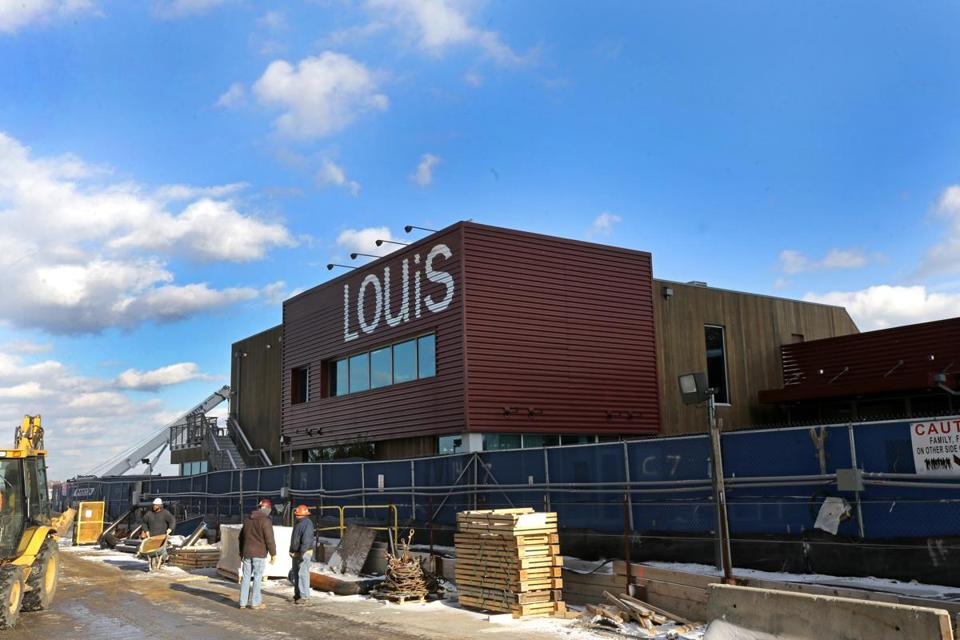 The Louis store moved to a new development on the Fan Pier in 2010.